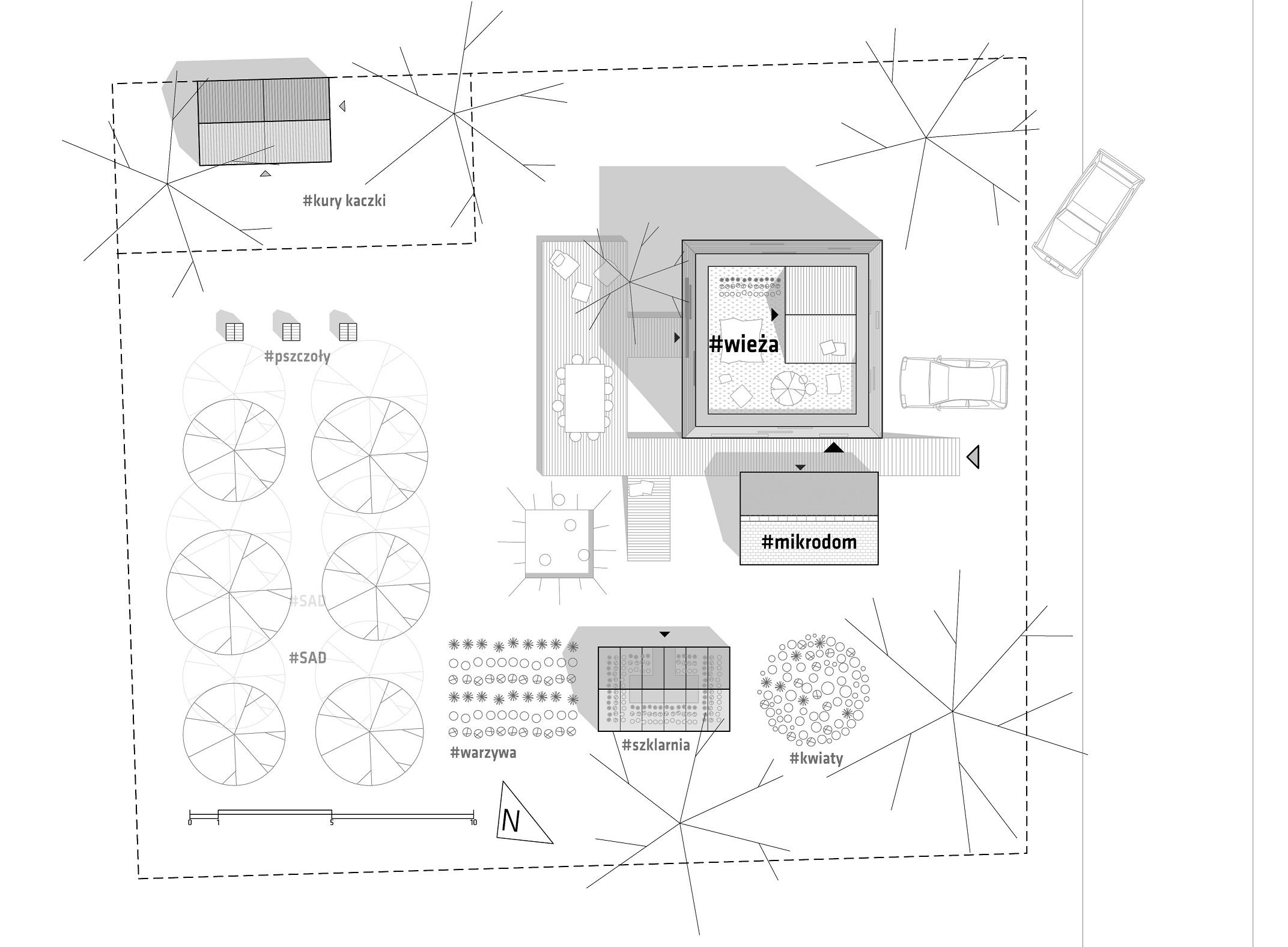 02 ZAGOSPODAROWANIE ARCHITEKT | SENSEGROUP | PSZCZYNA