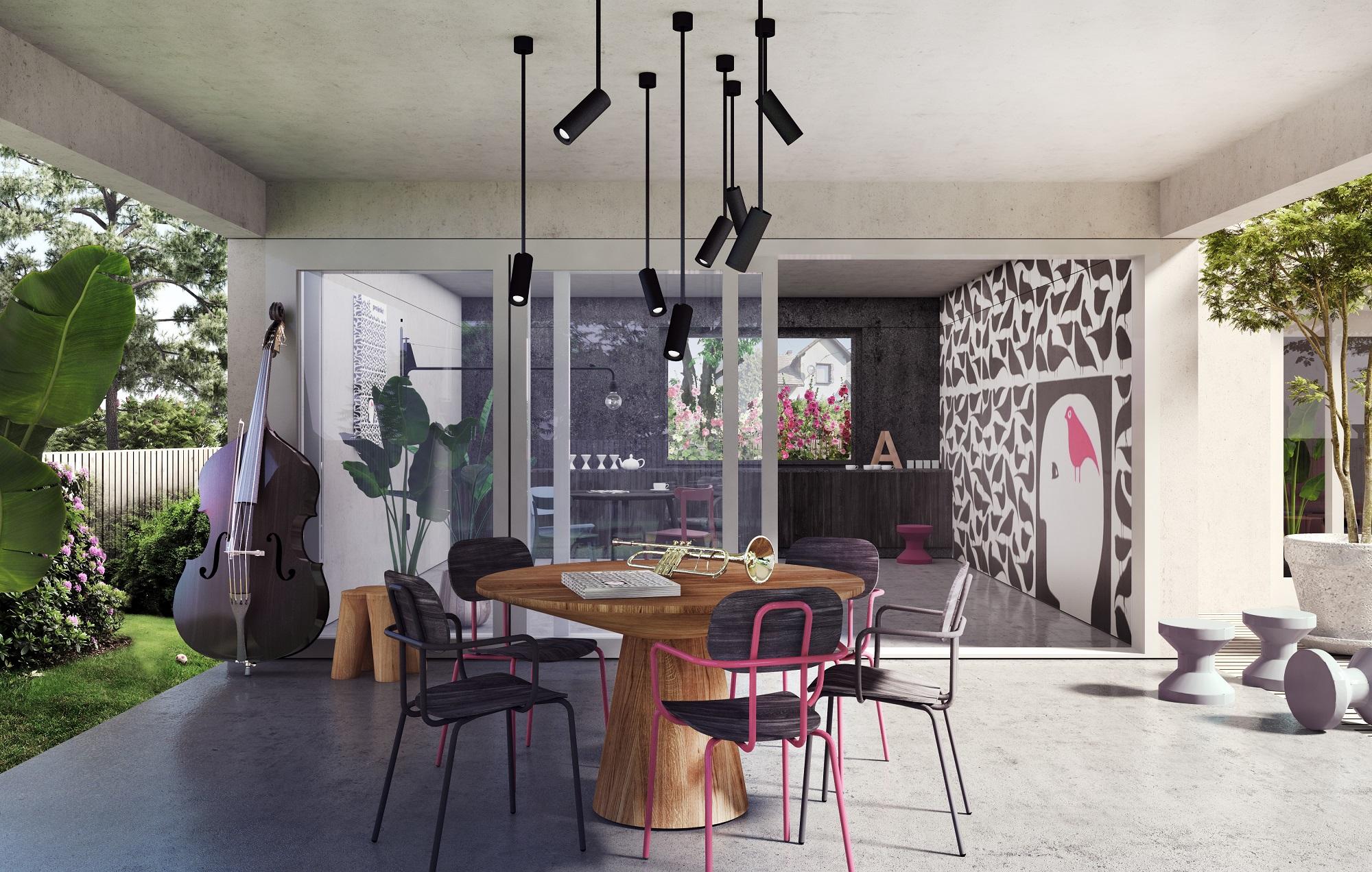 dom wnętrze minimalizm
