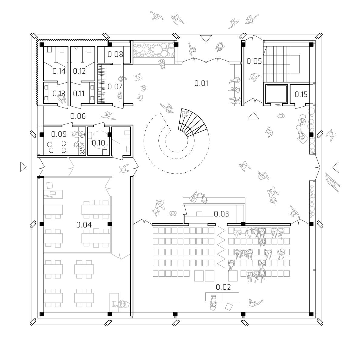 architektura rzut
